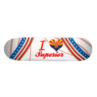 I Love Superior Arizona Skateboard Deck