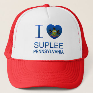 I Love Suplee, PA Trucker Hat