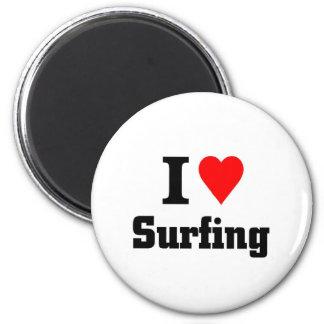 I love surfing magnet