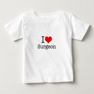 I Love Surgeon Baby T-Shirt