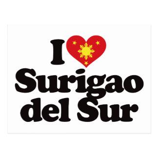I Love Surigao del Sur Postcard