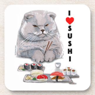 I LOVE SUSHI COASTER