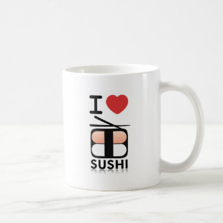 I Love Sushi Coffee Mug