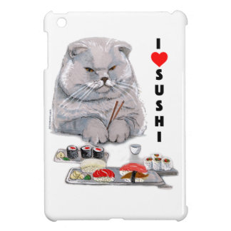 I LOVE SUSHI COVER FOR THE iPad MINI