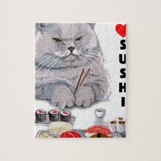 I LOVE SUSHI JIGSAW PUZZLE