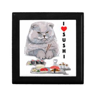 I LOVE SUSHI KEEPSAKE BOX