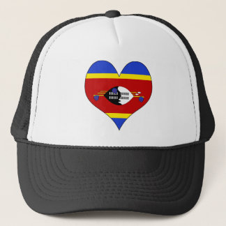 I Love Swaziland Trucker Hat