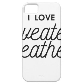I Love Sweater Weather Case For The iPhone 5