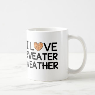 I Love Sweater Weather Coffee Mug