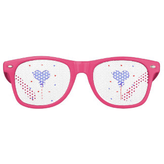 I love sweet march with many candy  hearts retro sunglasses