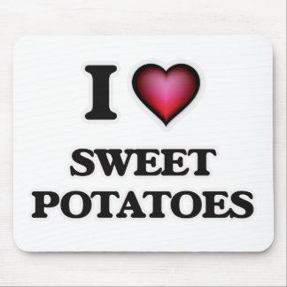 I Love Sweet Potatoes Mouse Pad