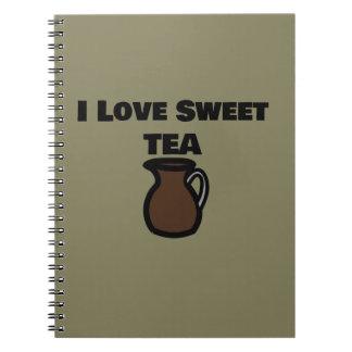 I Love Sweet Tea Notebook