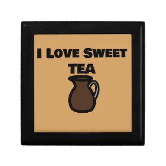I Love Sweet Tea Tile Jewelry Box