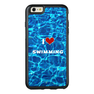 I Love Swimming OtterBox iPhone 6/6s Plus Case