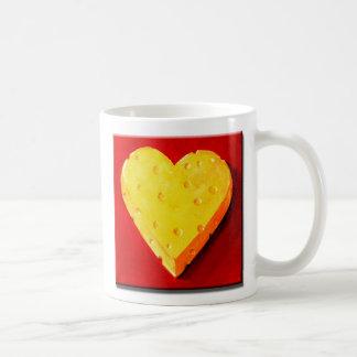 I Love Swiss Cheese Basic White Mug