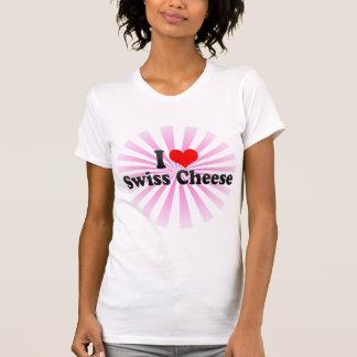 I Love Swiss Cheese Tee Shirt