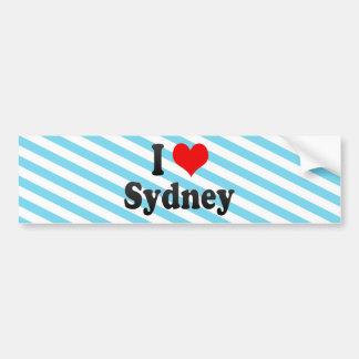 I Love Sydney, Australia Bumper Sticker