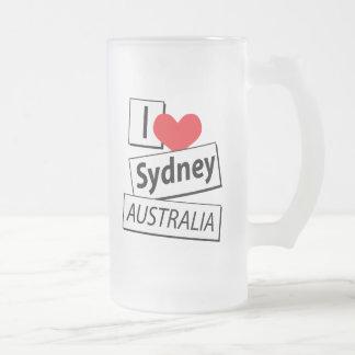 I Love Sydney Australia Mugs
