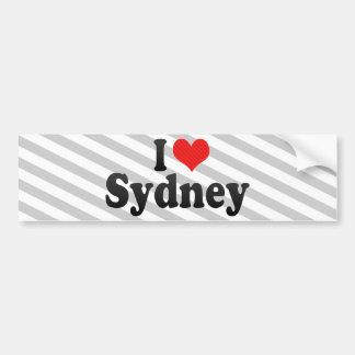 I Love Sydney Bumper Sticker