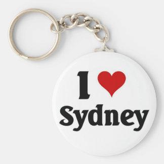 I love Sydney Keychain
