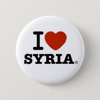 I Love Syria 2 Inch Round Button