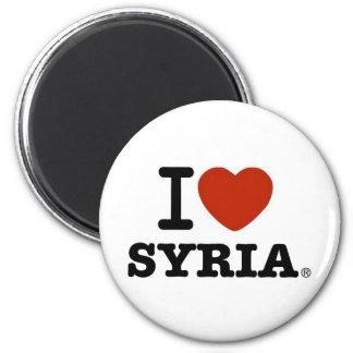 I Love Syria Magnet