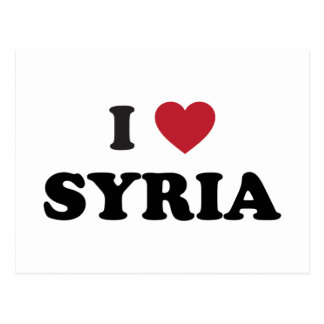 I Love Syria Postcard