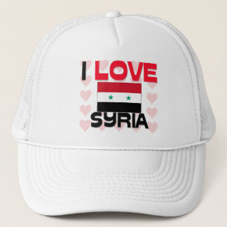 I Love Syria Trucker Hat