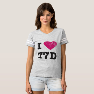 I love T7D Football shirt