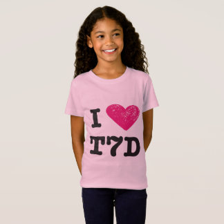 I love t7d tshirt (girls)