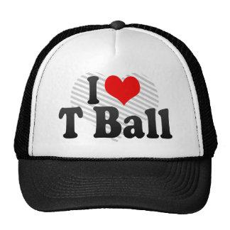 I love T Ball Mesh Hat