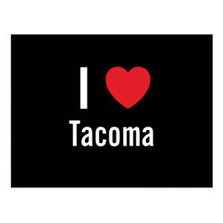 I love Tacoma Postcard