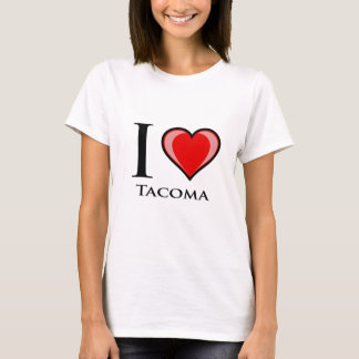 I Love Tacoma T-Shirt