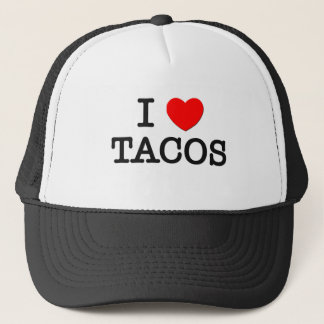 I Love TACOS ( food ) Trucker Hat