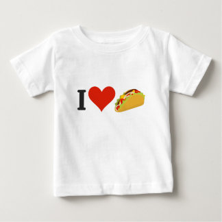 I Love Tacos For Taco Lovers Baby T-Shirt