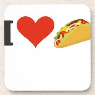I Love Tacos For Taco Lovers Coaster