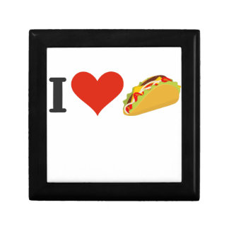 I Love Tacos For Taco Lovers Gift Box