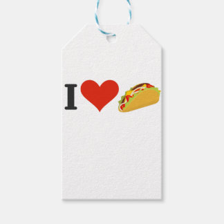 I Love Tacos For Taco Lovers Gift Tags