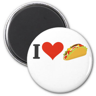 I Love Tacos For Taco Lovers Magnet
