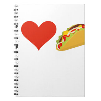 I Love Tacos For Taco Lovers Notebooks