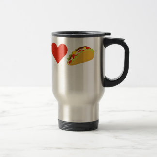 I Love Tacos For Taco Lovers Travel Mug
