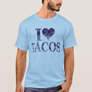 I love tacos - i heart tacos tshirt