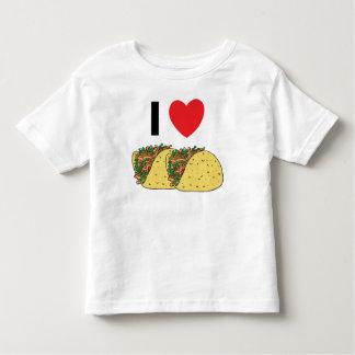 I Love Tacos Toddler Toddler T-shirt