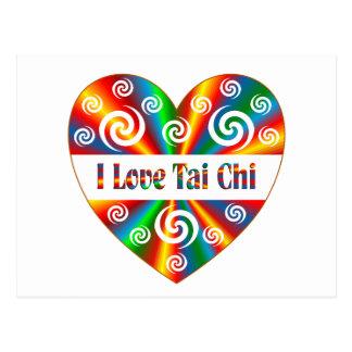 I Love Tai Chi Postcard