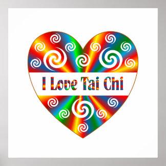 I Love Tai Chi Poster