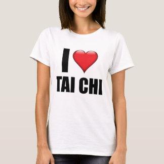 I Love Tai Chi tshirt cute martial arts gift