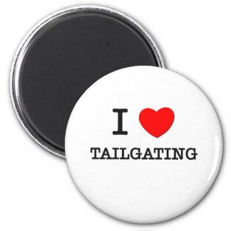I Love Tailgating Fridge Magnet