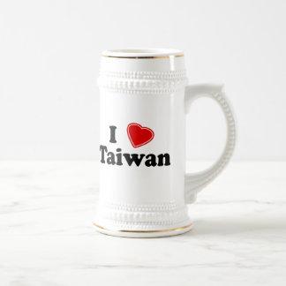 I Love Taiwan Beer Stein