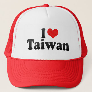 I Love Taiwan Trucker Hat