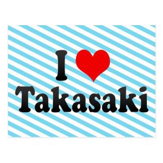 I Love Takasaki, Japan Postcard